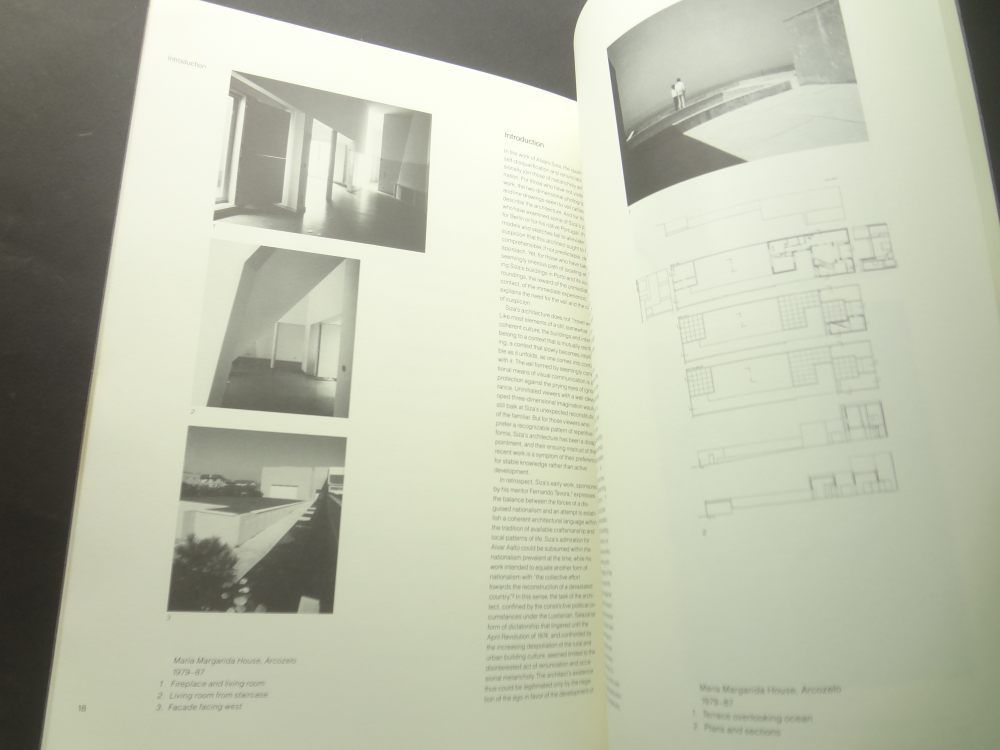 Alvaro Siza: Figures and Configurations, Buildings and Projects 1986-19882