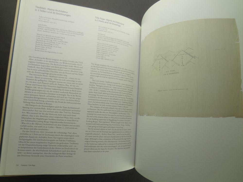 Bruno Taut: Alpine Architektur. Eine Utopie / A Utopia1