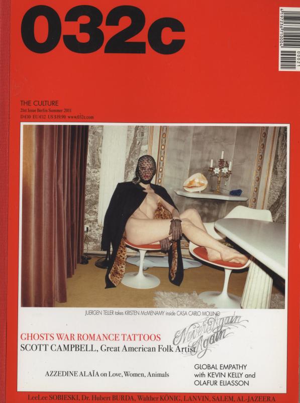 032c magazine Summer 2011 #21 Scott Campbell