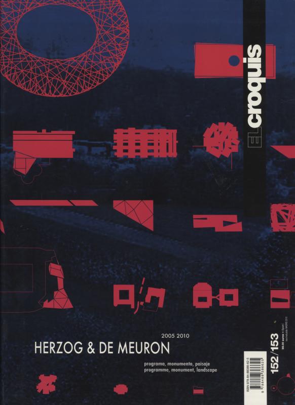 El croquis N. 152/153: Herzog & De Meuron 2005 2010