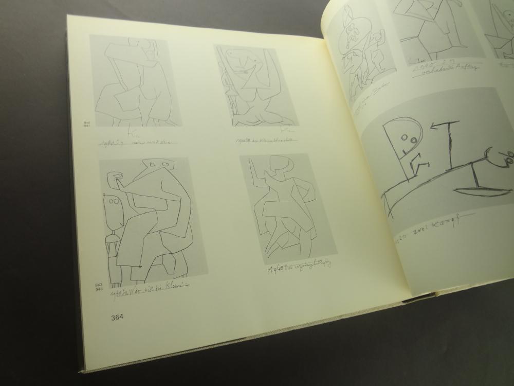 Sammlungskataloge des Berner Kunstmuseums: Paul Klee 全4巻2