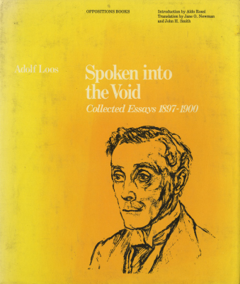 Spoken into the Void: Collected Essays 1897-1900