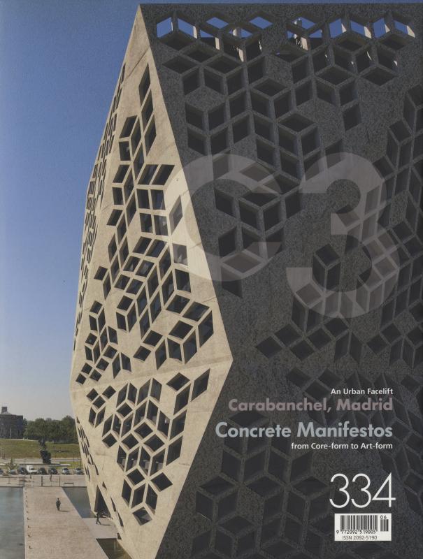 C3 Magazine No. 334: Concrete Manifestos / Carabanchel, Madrid