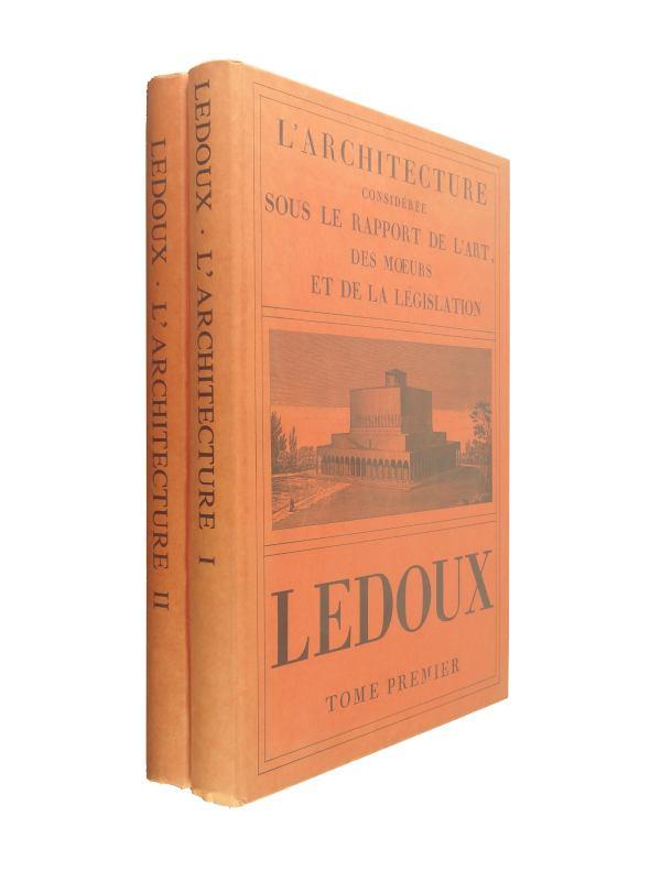 L'Architecture consideree sous le rapport de l'art, des oeurs et de la legislation (芸術、習慣、立法との関係から考察された建築)