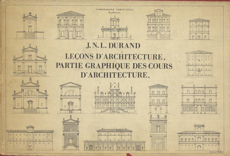 Precis des lecons d'Architecture donnes a l'Ecole Royale Polytechnique