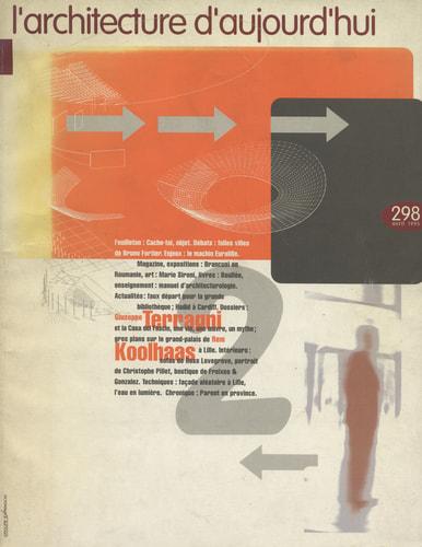 L'Architecture d'aujourd'hui (AA) avril 1995 #298 Terragni-Koolhaas