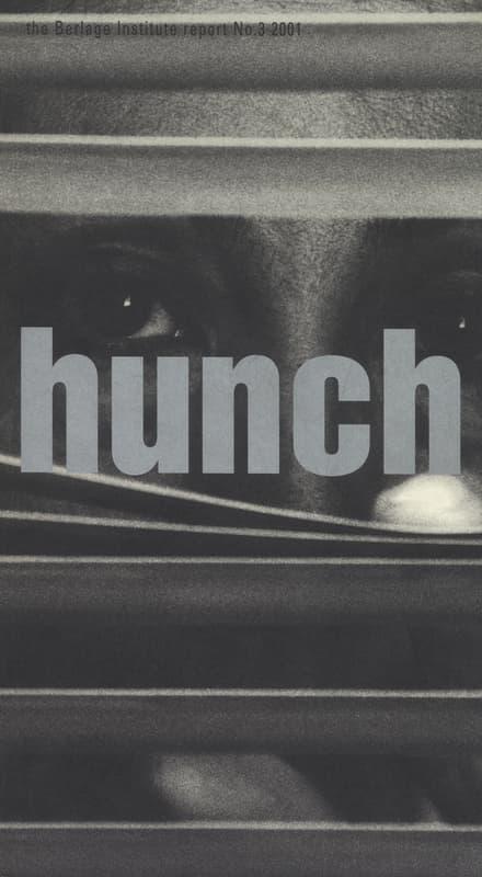 hunch 3: the Berlage Institute report No.3 2001