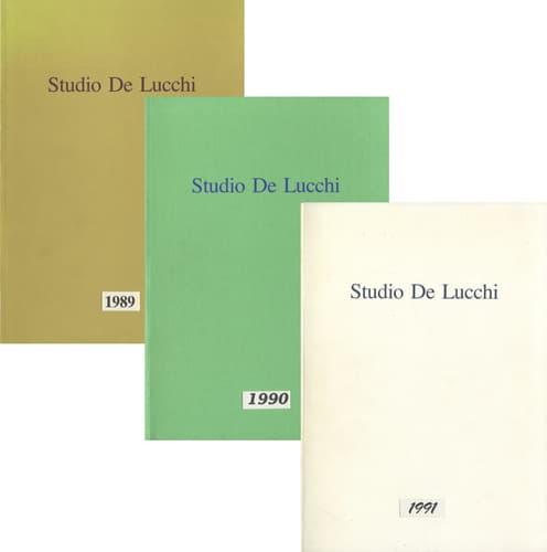 Studio De Lucchi Yearbook 1989, 1990, 1991 3冊セット